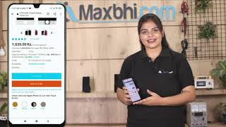 Buy Samsung Galaxy J Max Front Glass, Free Delivery High Quality Best Price Maxbhi