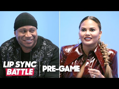 Gettin' To Know LL Cool J & Chrissy Teigen | Lip Sync Battle Pregame
