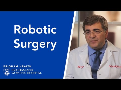 Robot-Assisted Gynecological Surgery - Brigham and Women's