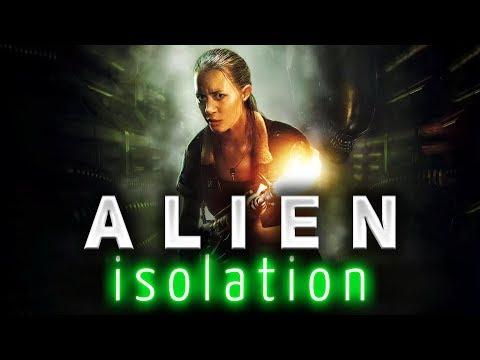 ALIEN: Isolation ☀ Страшный Ксеноморф ☀ Часть 1