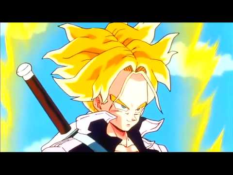 Goku Transforms Super Saiyan For Trunks