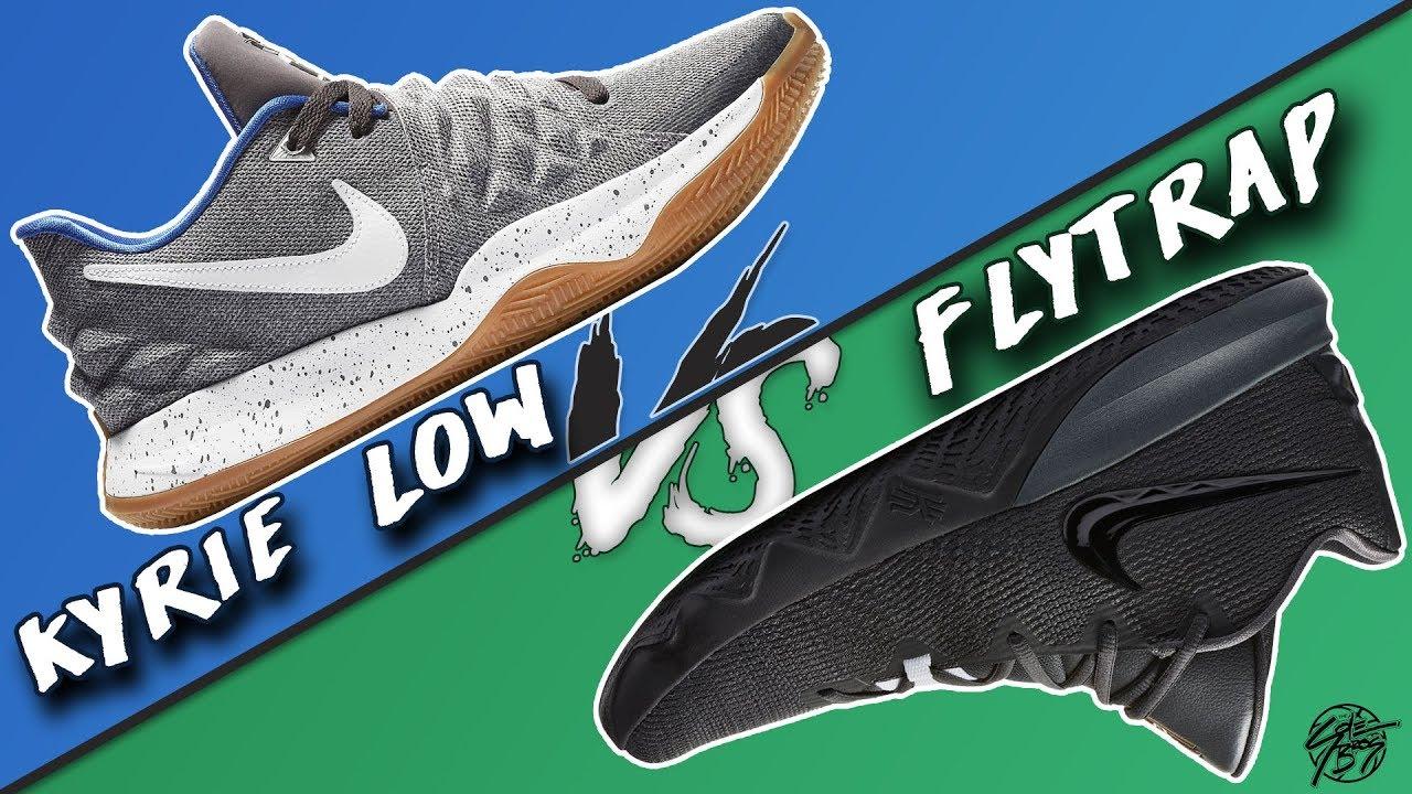 Nike Kyrie Low vs Kyrie Flytrap! - YouTube