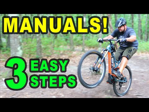 Manuals in 3 Easy Steps!   Beginner MTB Sessions with Bryan