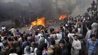 Couple Beaten, Burned By Mob For Blasphemy