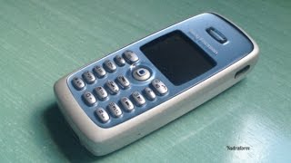 Sony Ericsson T300 retro review (old ringtones, wallpapers and others)