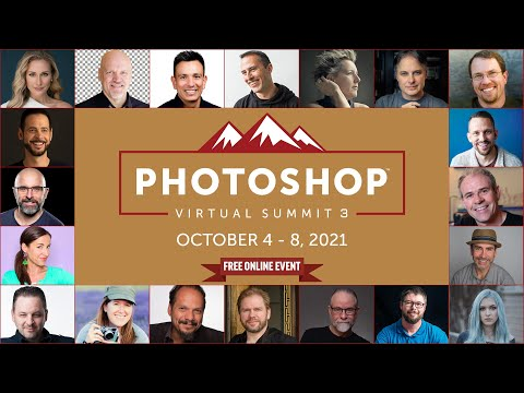 Get a free ticket to the Photoshop Virtual Summit