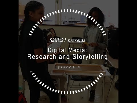 Digital Media Episode 3 : Research and Storytelling