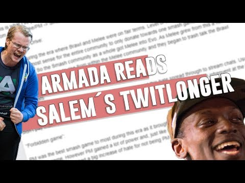 Armada reads/Responds to Salem's Twitlonger