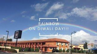 Double Rainbow on Diwali Day. San Jose, California,USA.