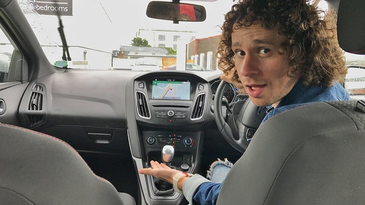 ¿Qué tan difícil es conducir un auto AL REVÉS? | Irlanda