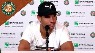 Rafael Nadal - Press Conference after Semi-Final I Roland-Garros 2018