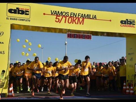 Corrida 49° Aniversario del diario ABC Color - Paraguay - 5 y 10 kilómetros
