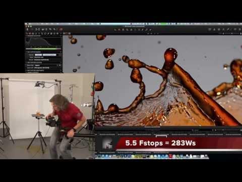 Water Splash Photography test: Elinchrom Ranger Quadra RX freeze water splash? Part 2 of review