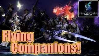 FFXIV Heavensward Flying Companions - I Believe I Can Fly - Full Level 52 Quest