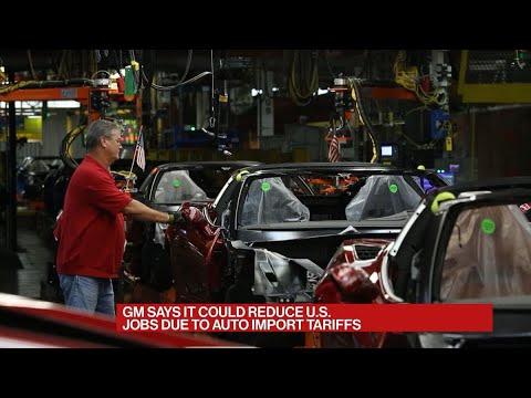 GM Says It May Cut U.S. Jobs Due To Auto Import Tariffs