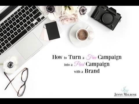 How to Turn a Free Campaign into a Paid Campaign with a Bran