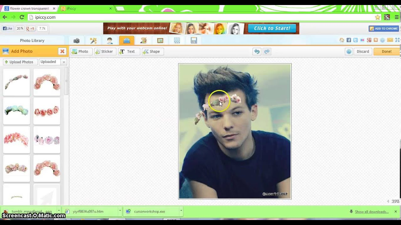 How to make flower crown edits youtube how to make flower crown edits izmirmasajfo