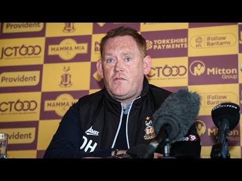 PRESS CONFERENCE: Hopkin formally introduced as Bantams boss