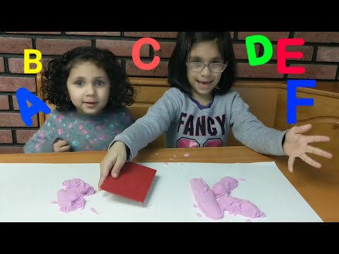 Find the missing Alphabet in this Video- Learn ABC with Kinetic Sand