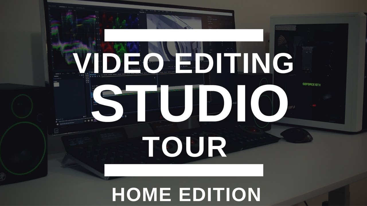 Video editing home studio tour youtube for Home video tours