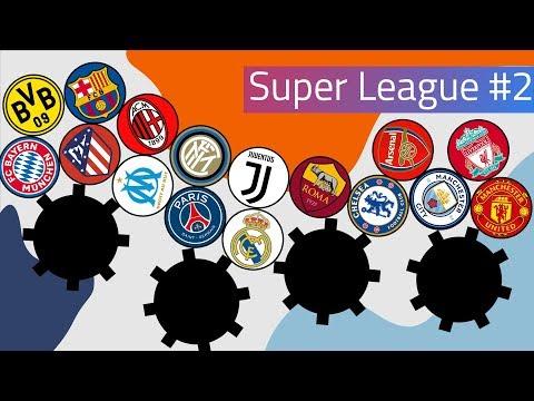 Clubballs Super League Marble Race #2 | UEFA 2019