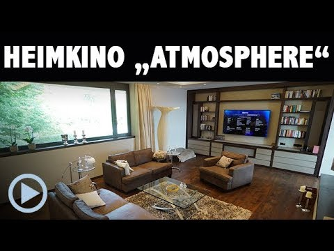 Heimkino Atmosphere - Wohnraumkino mit TV, Beamer und 5.1.4 Dolby Atmos System