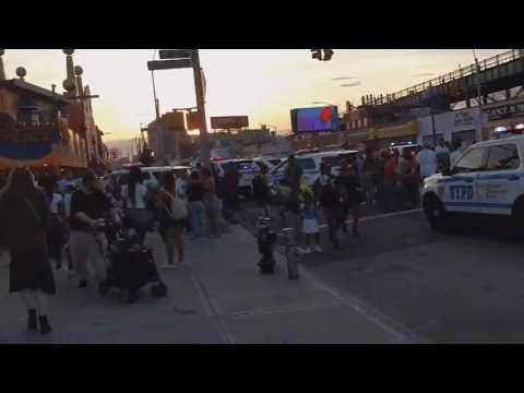 Reports of Shooting Causes Mad Chaos at Coney Island's Luna Park