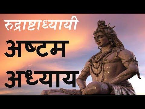 Rudri Path अष्टम अध्याय  Rudraashtadhyaayi | रुद्री पाठ - रुद्राष्टाध्यायी | chapter 8