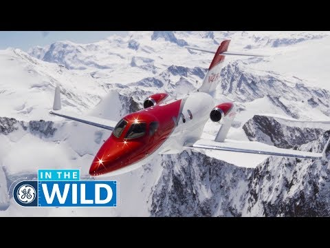 How HondaJet's Engine Creates a Unique Flying Experience - In The Wild - GE