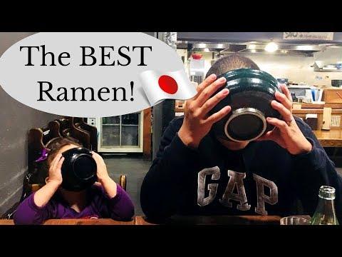 Best Ramen Spots Near Yokosuka Naval Base Japan | Military Family Vlogs| Dec 2017