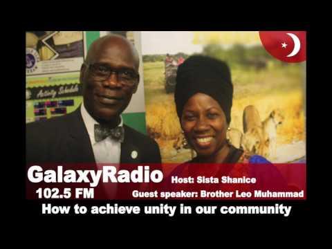 Leo Muhammad | On Galaxy Radio: Unity in the community
