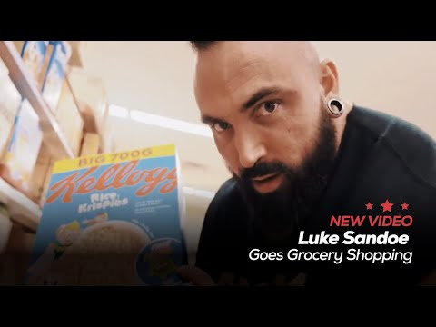 Luke Sandoe Goes Grocery Shopping