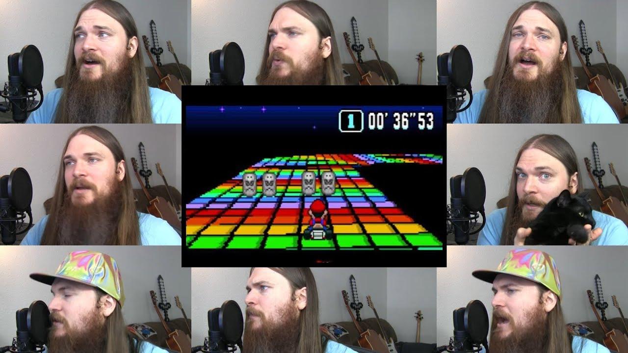 Super Mario Kart - Rainbow Road Acapella