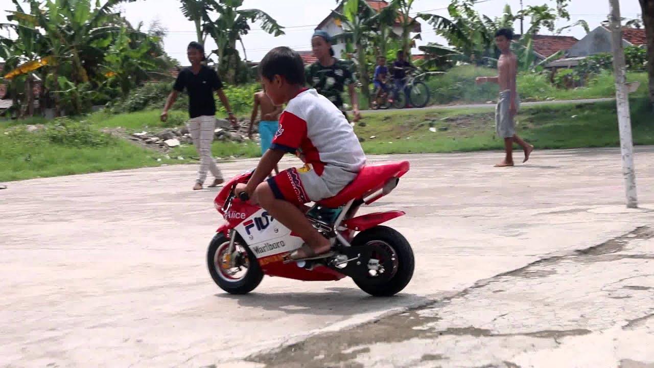 Gambar Sepeda Motor Ninja Kecil Terbaik Gentong Modifikasi