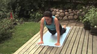 Yoga för alla - Teknik - Solhälsning B - Enkel