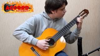Уроки гитары. Карпенко Влад (3 курс) - Самба (Х.Сарате)
