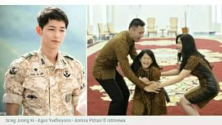 """Suami """"MIRIP"""" Song Joong Ki, Annisa Pohan Ikutan Nonton Descendants Of The Sun"""