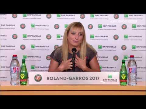 Timea Bacsinszky Press Conference RG17 - 6th of June