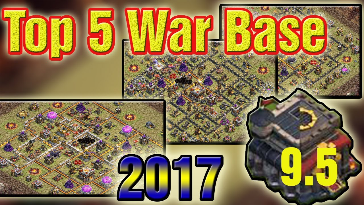Top 5 Th 9 War Base 6