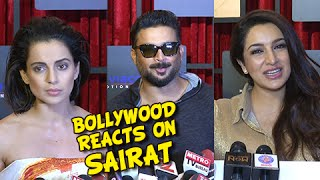 Bollywood Reacts On Sairat | Crossed 85 Crores | Kangana Ranaut, R Madhavan, Gulshan Grover