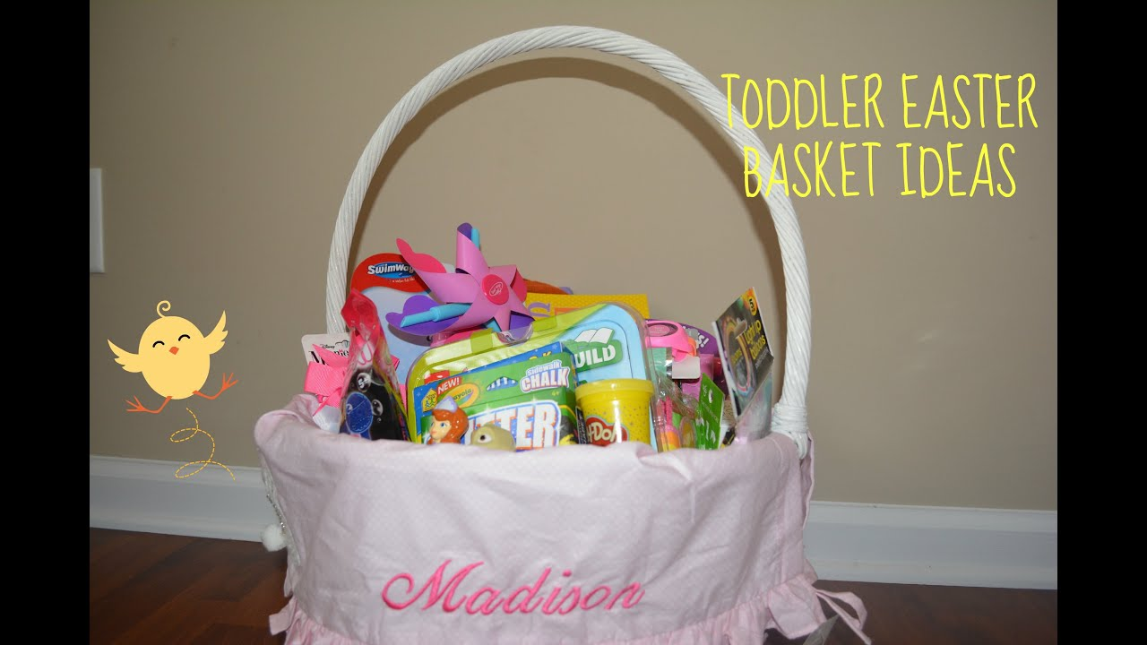 Easter basket ideas for toddlers home decor mrsilva toddler easter basket ideas youtube negle
