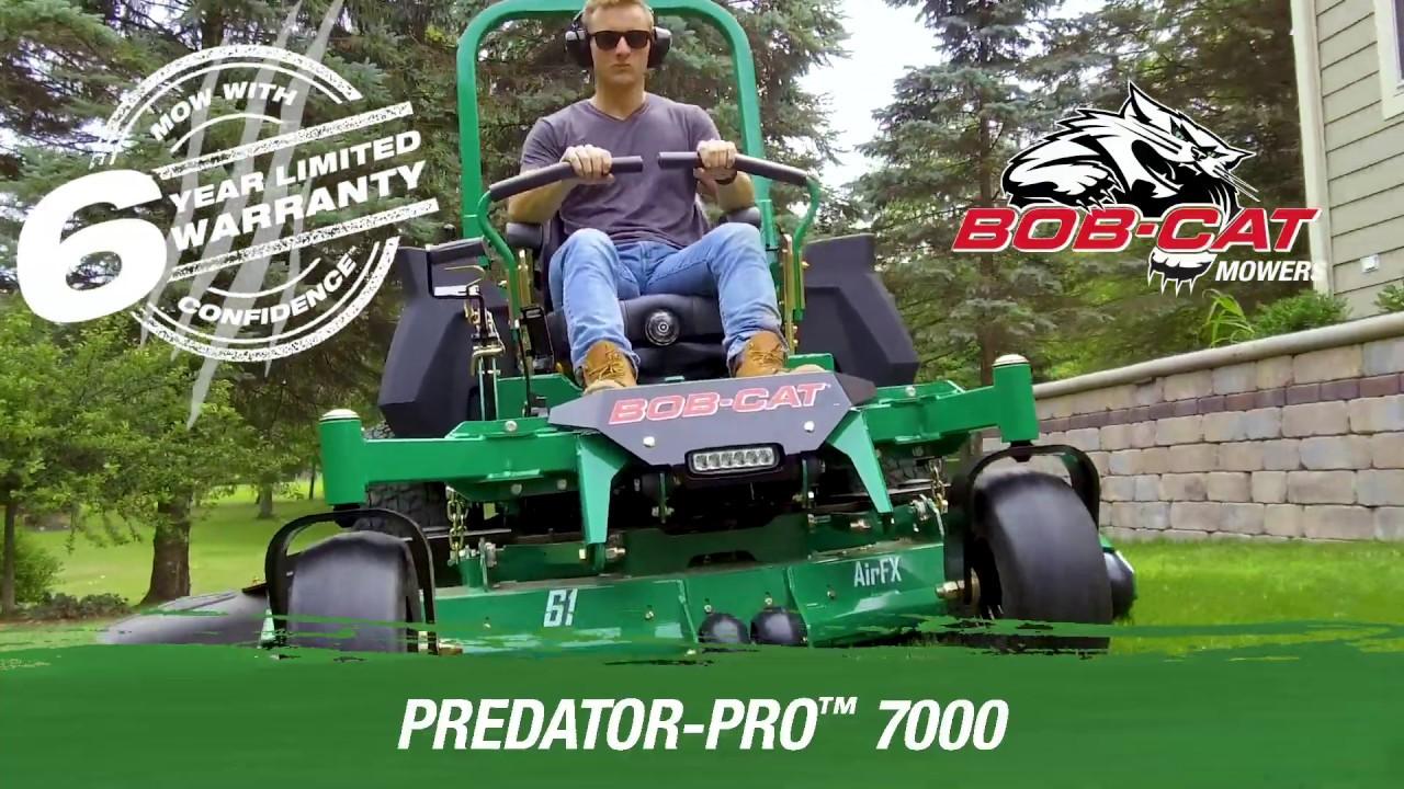 Predator-Pro™ 7000   Zero-Turn Mower   BOB-CAT® Turf