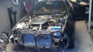 toyota corolla ceres ae-101 3s-gte 2.0 engine first start