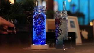도밍 개인전 : 기묘한 전시. 심해 음료 영상
