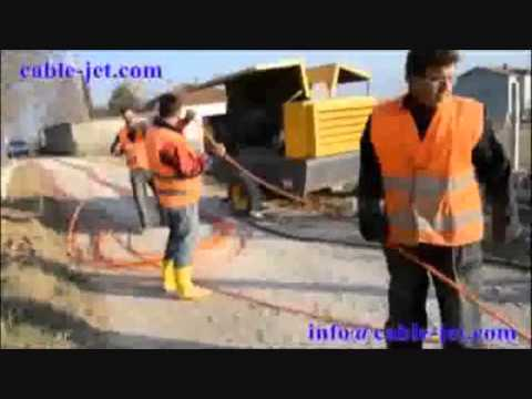 ACE-FOK EUROPE OPTIC FIBRE CABLE BLOWING MACHINE