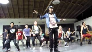 Les Twins Workshop in SF 4/7 - Larry's group performs
