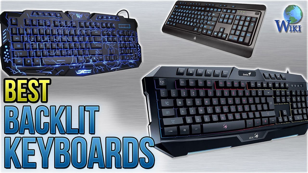 4457d69fa43 Top 10 Backlit Keyboards of 2019 | Video Review