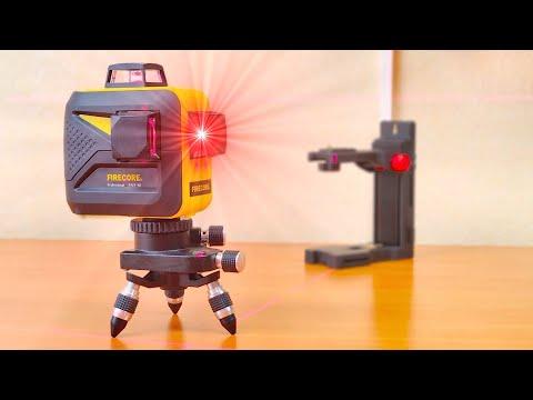 НЕ ПЕРЕПЛАЧИВАЙ? 🔥 Лазерный уровень-построитель плоскостей Firecore F93T-XR с Алиэкспресс