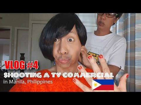 Shooting a Funny TV Commercial in Manila, Philippines | Vlog #4