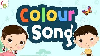 Colour Song for Kids - Learn Colours for Children | Learning Songs from Team Berries| Cuddle Berries